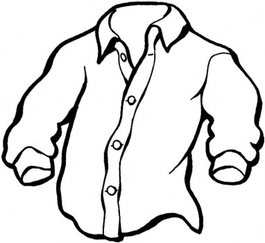 collection of drawing. Button clipart shirt