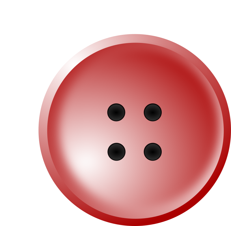 Red medium image png. Button clipart shirt