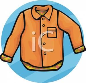 button clipart shirt