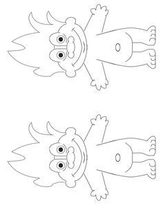 Button clipart sketch. Troll doll coloring books