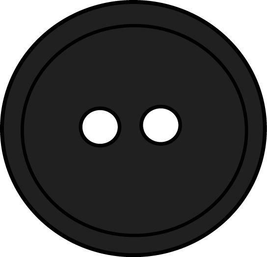 Black round button with. Buttons clipart transparent background