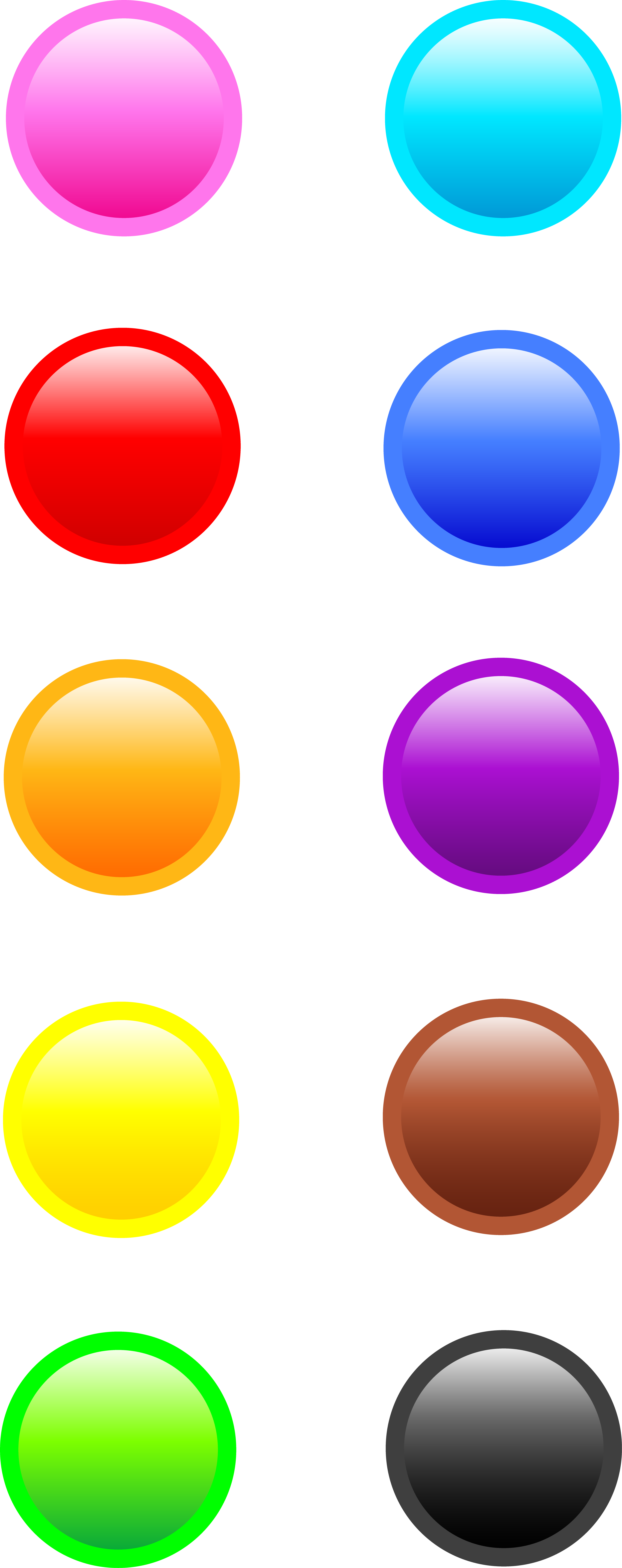 Pin buttons free download. Button clipart website