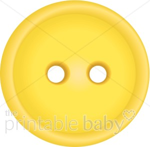 Brads buttons and embellishments. Button clipart yellow button
