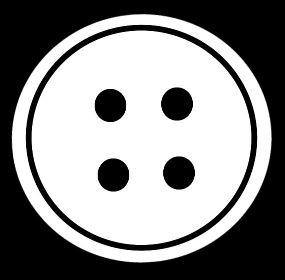 Buttons clipart. Snowman