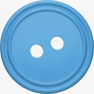Button clipart clothes button. Blue buttons creative png