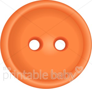 Brads buttons and embellishments. Button clipart orange button
