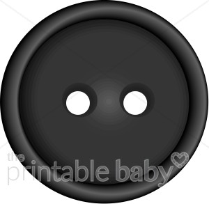Black brads buttons and. Button clipart printable
