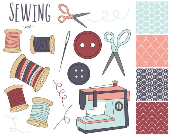 off sale sewing. Buttons clipart craft