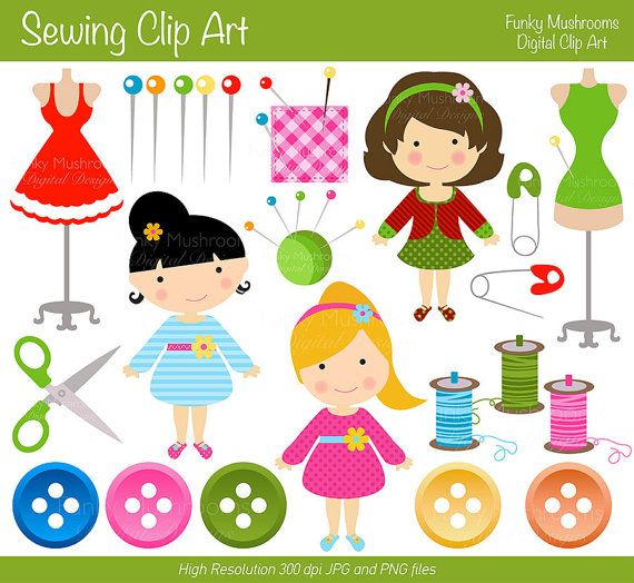 Buttons clipart craft.  best sewing images