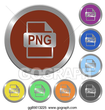 Buttons clipart file. Vector stock color png