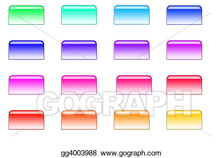 Buttons clipart file. Drawing style gg gograph