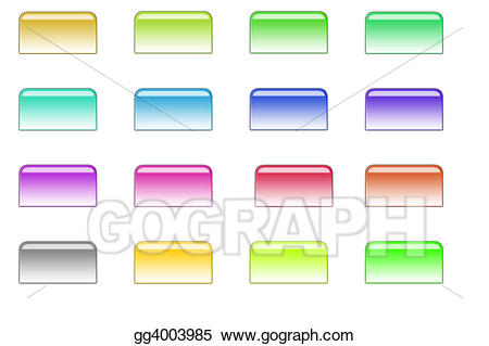 Stock illustration style illustrations. Buttons clipart file