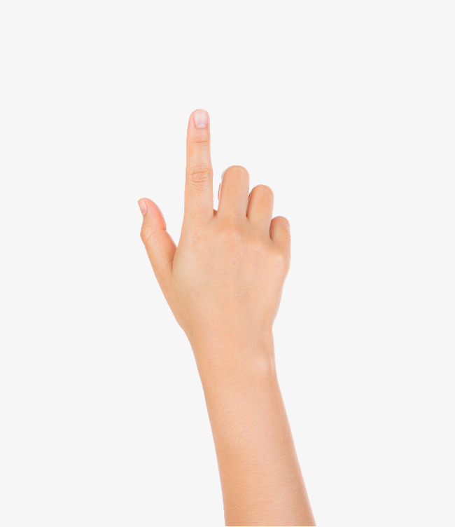 Buttons clipart hand. Hd finger one female