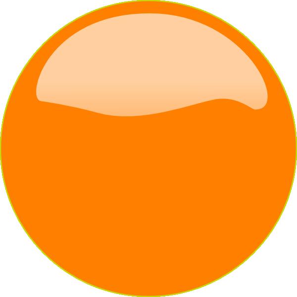 Computer clipart yellow. Orange button clip art