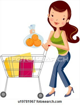 Clip art womankind buying. Buy clipart