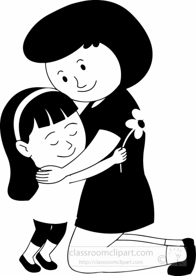 Buy clipart black and white. Free children outline clip