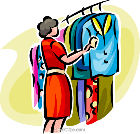 Buy clipart clothes shopping. Station