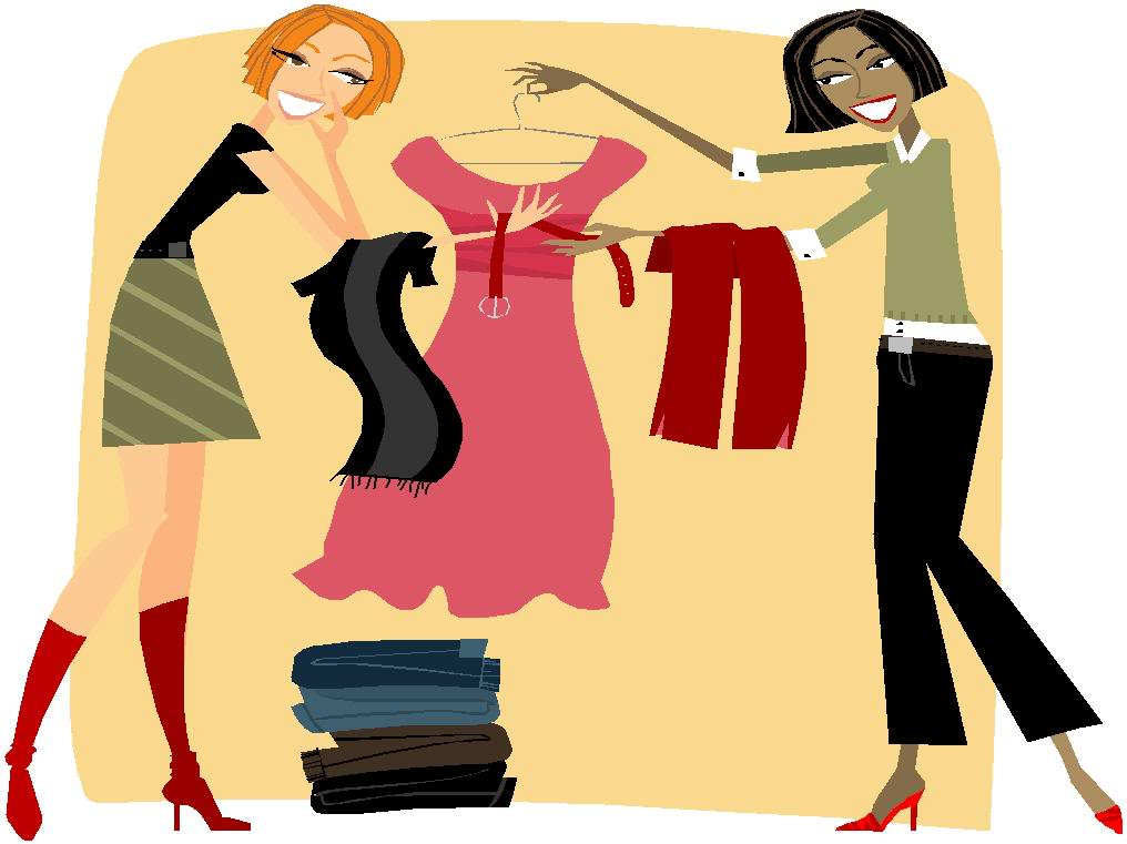 . Buy clipart clothes shopping