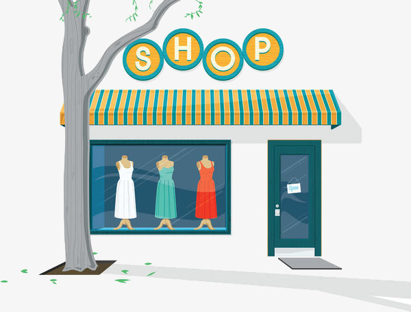 Buy clipart clothes shopping, Buy clothes shopping ...
