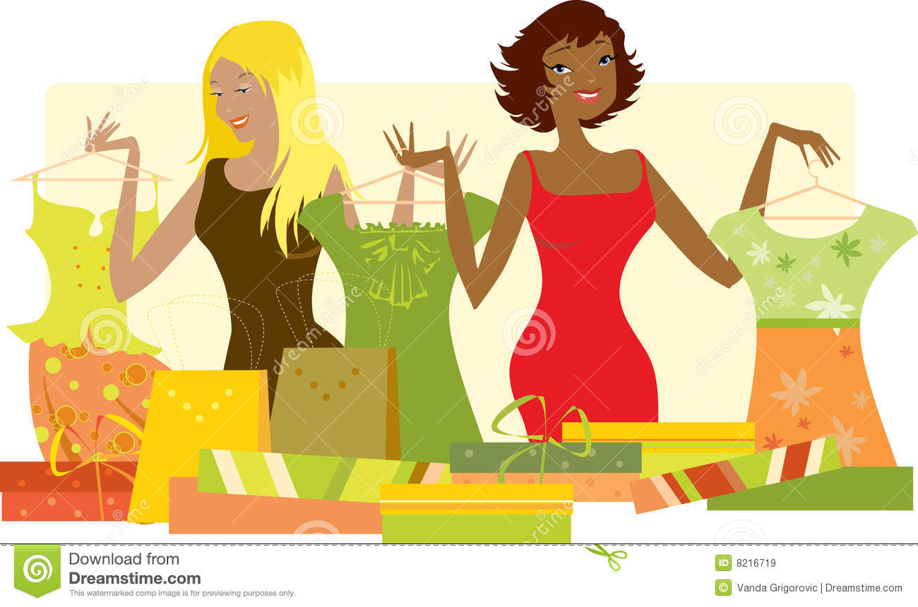 Station . Buy clipart clothes shopping