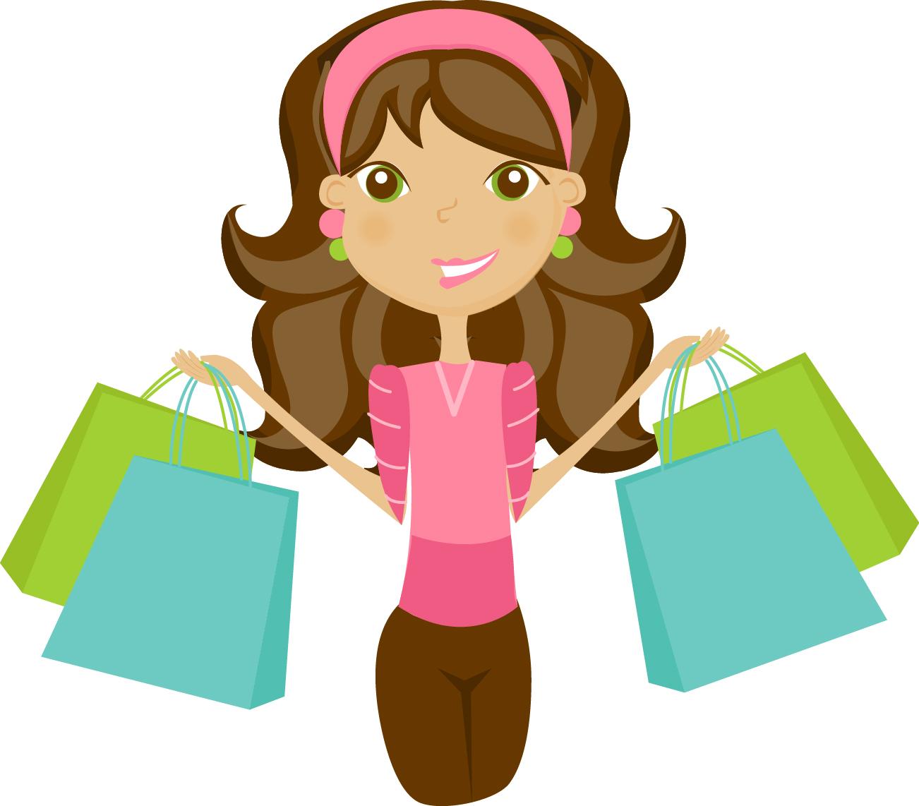 Free clothes shop cliparts. Mall clipart personal shopper