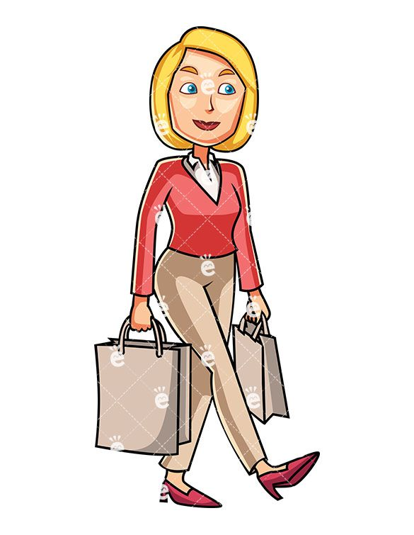 Buy clipart customer buying. A woman holding couple