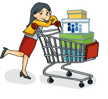 Buy clipart customer shopping. Brand loyalty and repeated