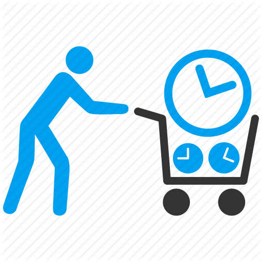 Iconfinder time organizing by. Buy clipart customer shopping