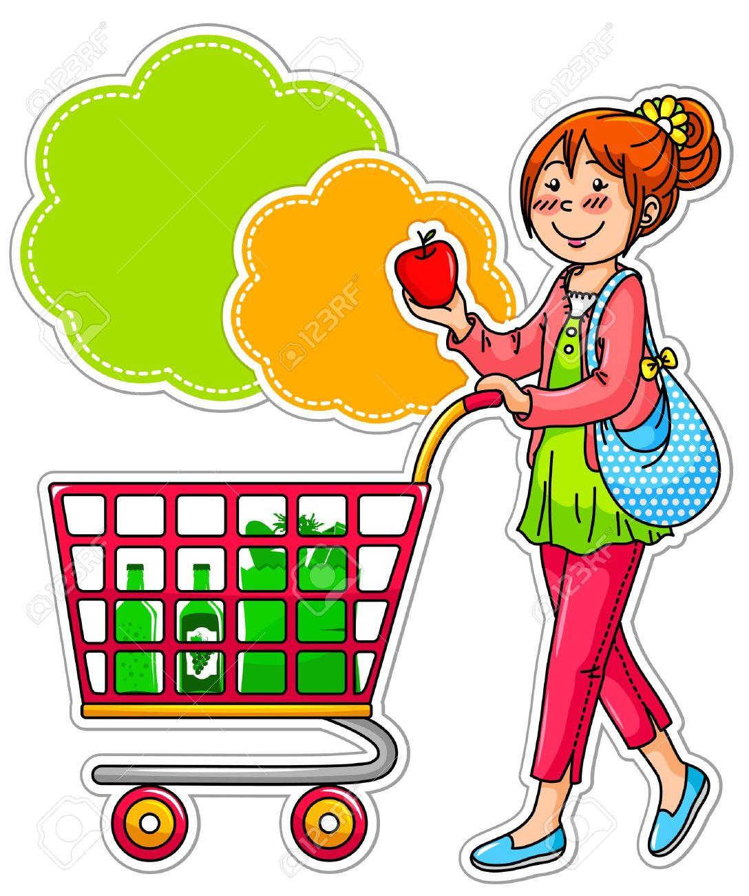 Station . Buy clipart customer shopping