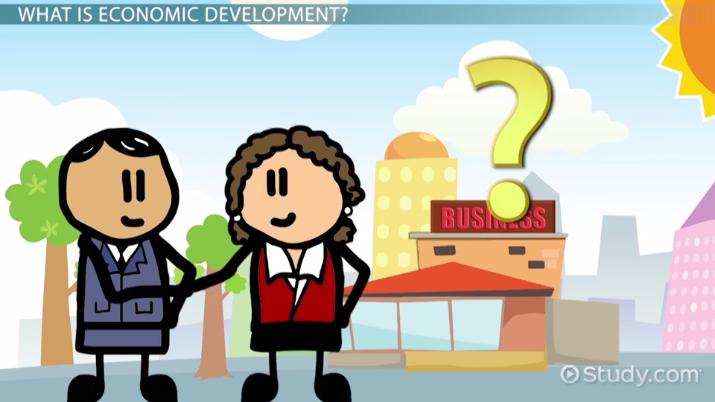 What is economic development. Economics clipart economy class