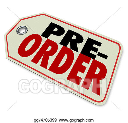 Buy clipart going to store. Drawing pre order price