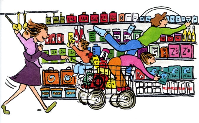 Clip art free images. Buy clipart grocery shopping