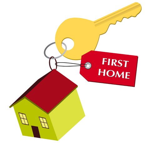Buy clipart home buyer. Buying as first in