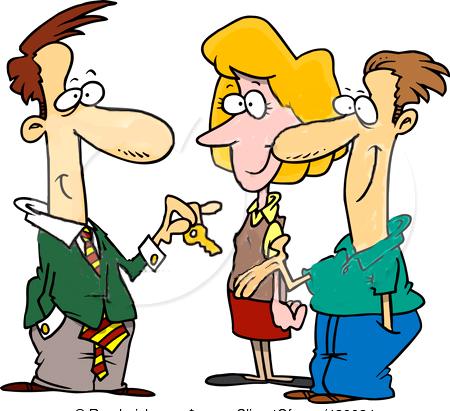 Buying . Buy clipart home buyer