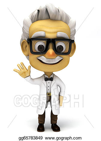 Buy clipart normal person. Drawing d cartoon professor