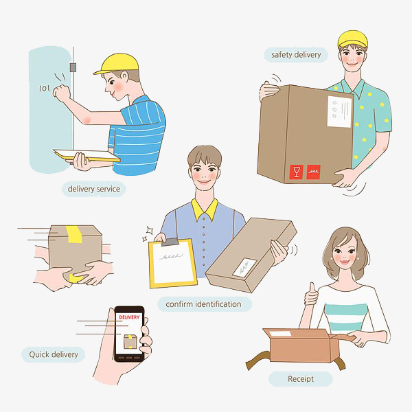 And delivery process png. Buy clipart purchase