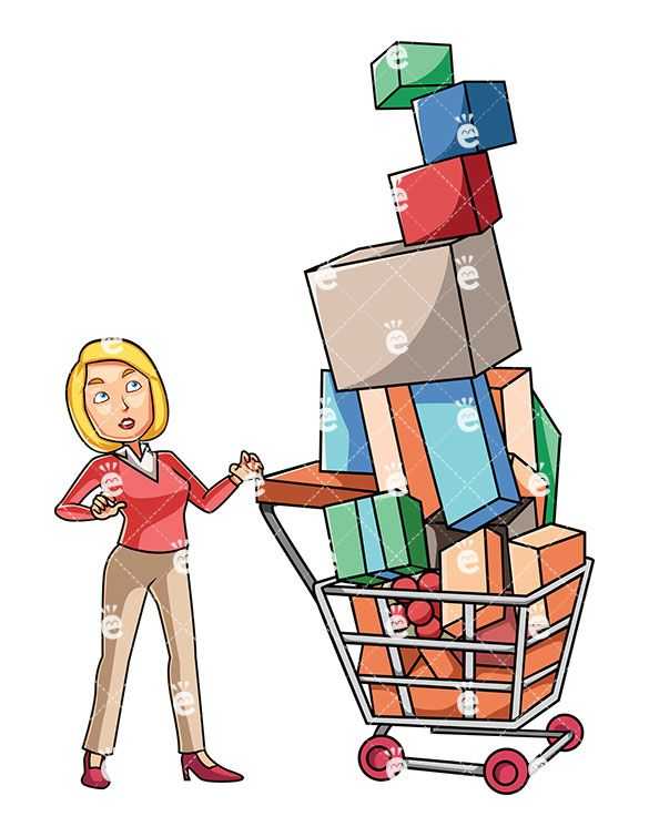 cashier clipart consumer product #57548241