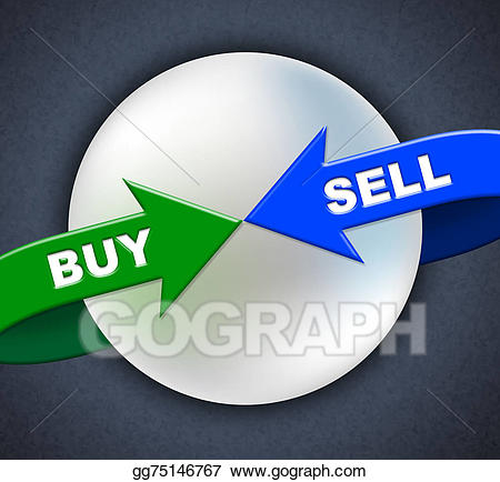 Stock illustrations sell arrows. Buy clipart retail