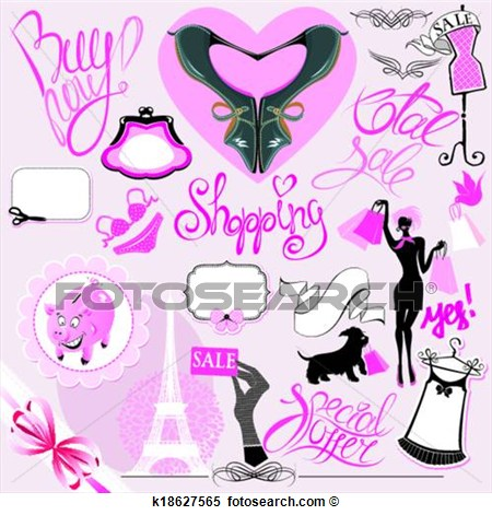 Buy clipart retail. Glamour clip art free