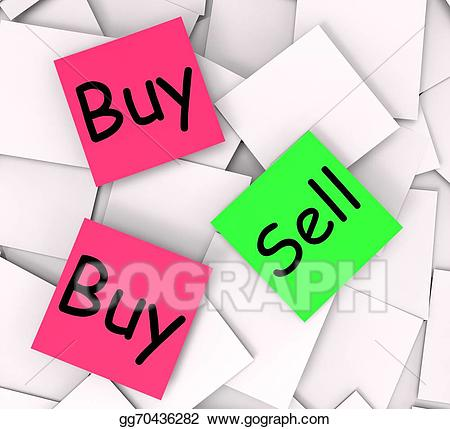 Stock illustrations sell post. Buy clipart retail