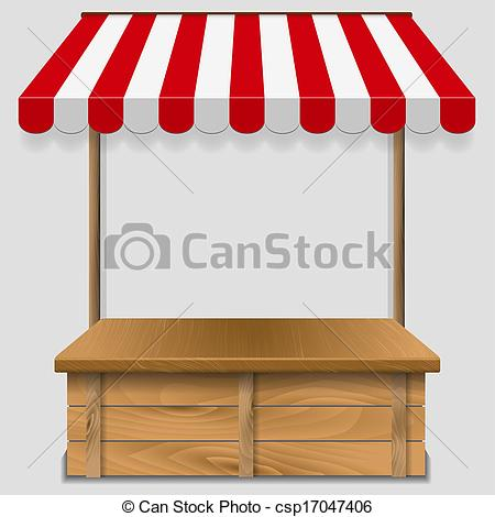 Buy clipart shop counter. Store window with striped