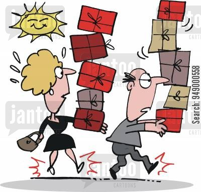 Buy clipart shopping trip. Cartoons humor from jantoo