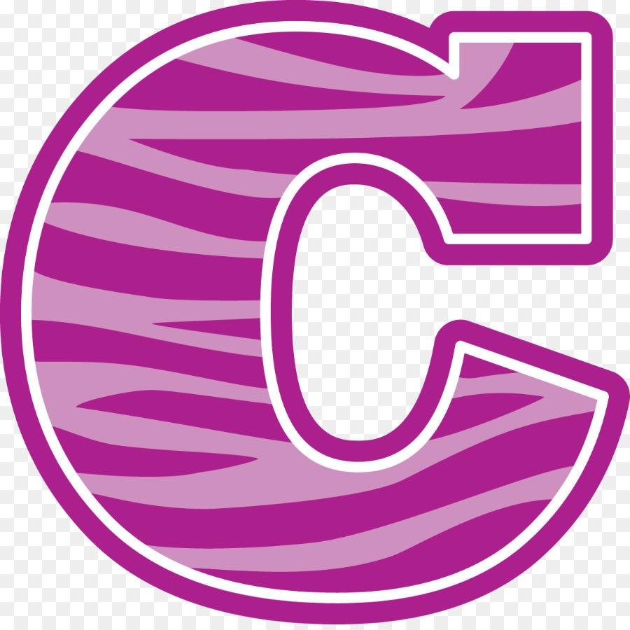 C clipart. Letter alphabet pink transparent