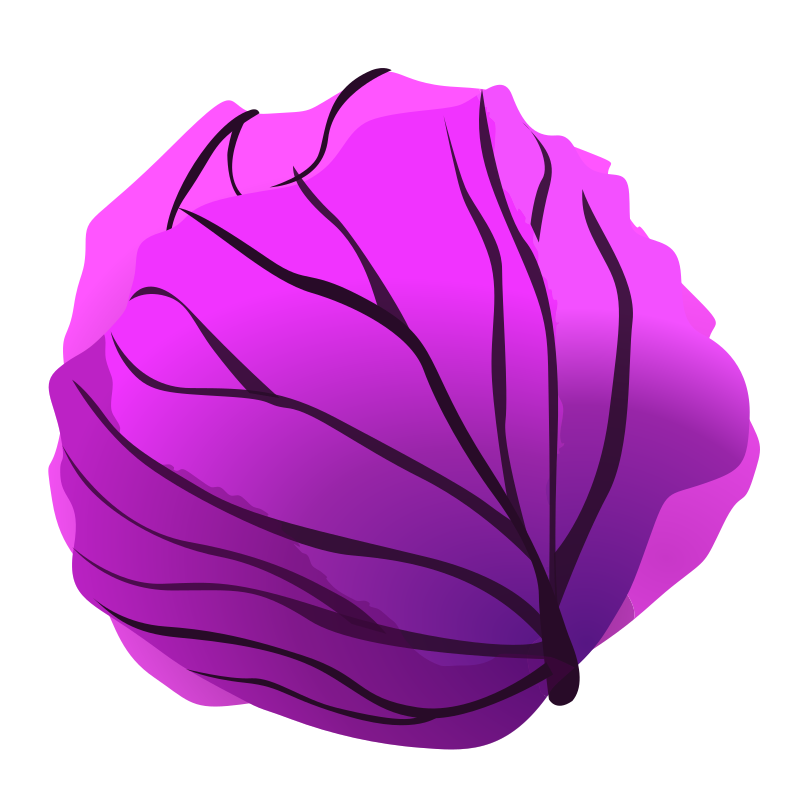 Cabbage clipart animated. Red medium image png