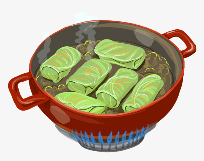 Cabbage clipart cabbage roll. Fried spring rolls food