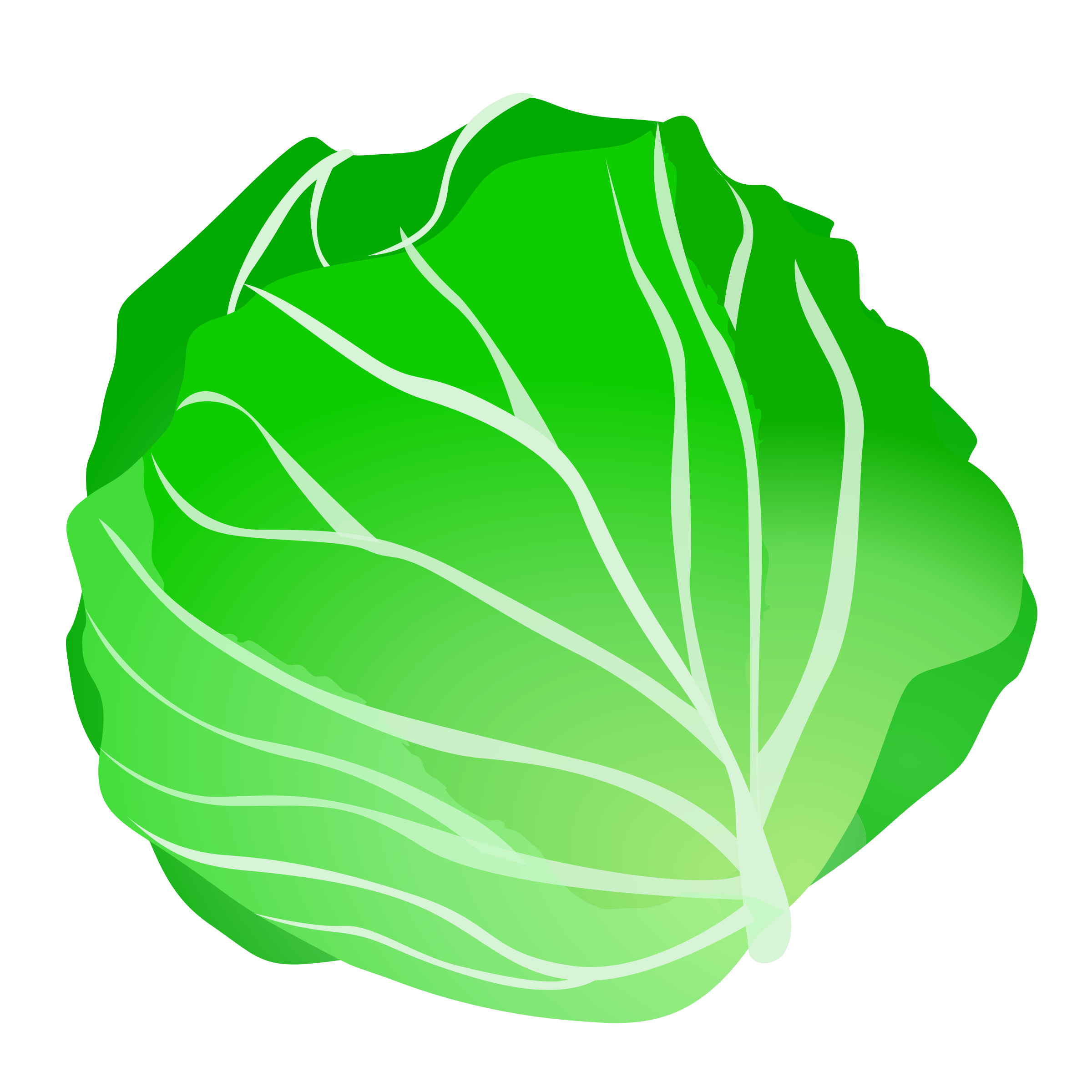 . Cabbage clipart cartoon