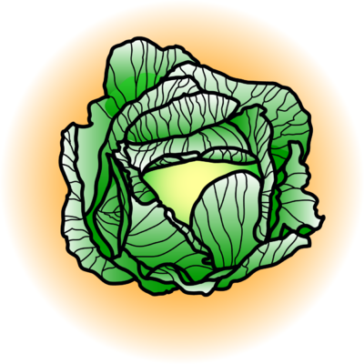 Cabbage clipart clip art. Image food christart com