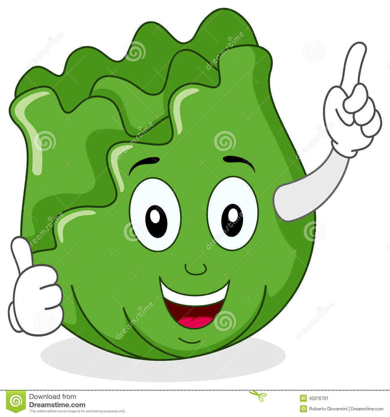 Cabbage clipart cute. Cartoon pencil and in