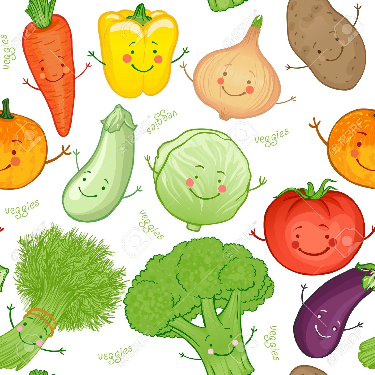 Vege funny pencil and. Cabbage clipart face