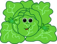 Repollo patterns scrapbook pinterest. Cabbage clipart face